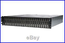 Dell PowerVault MD3220i 24 x 1.2TB 10k SAS, Dell Enterprise HDDs, Rails