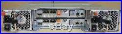 Dell PowerVault MD3220i iSCSI SAN Storage Array + 14x 600GB HDD, Dual Controller
