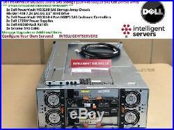 Dell PowerVault MD3260 160TB SAS Storage (40x 4TB SAS) 2x SAS Ctrl 2x PSU Array