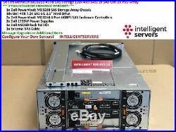 Dell PowerVault MD3260 40TB SAS Storage (10x 4TB SAS) 2x SAS Ctrl 2x PSU Array