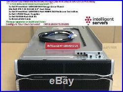 Dell PowerVault MD3260 80TB SAS Storage (20x 4TB SAS) 2x SAS Ctrl 2x PSU Array