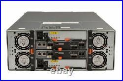 Dell PowerVault MD3460 60x 8TB 7.2K SAS HDD 2x 12G SAS Controllers 2x 1755W PSU