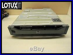 Dell PowerVault MD3600f Storage Array 5x 600GB 15K SAS 2x MD36 8G FC Controllers
