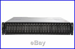 Dell PowerVault MD3620f 24x SAS Bay Rackmount Fibre Channel FC Storage Array