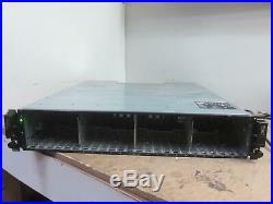 Dell PowerVault MD3620i E04J SAS Storage array, 2x PSU, No Controller