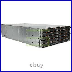 Dell PowerVault MD3660f Storage Array 60x 4TB 7.2K NL SAS 3.5 6G Hard Drives