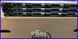 Dell PowerVault MD3800i Array 12x 3.2TB SSD (38TB) 10Gb iSCSI SAN Storage Array