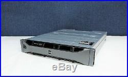 Dell Powervault MD3200 12-Bay SAS LLF Storage Array, 2x N89MP 6G 4PT SAS Contlrs