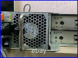 Dell Powervault Md1200 36tb (12 X 3tb) 7.2k Sas Storage Array Dual Control & Psu