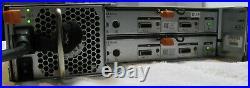 Dell Powervault Md1200 E03j 03djrj Storage Array 2-6gb Sas Module And 2-600w Psu