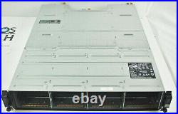 Dell SC200 Compellent 3.5 Storage Array 2x 0TW47 SC2 Controller +2x PSU 700W