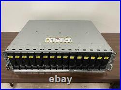EMC Dell KTN-STL3 15 Bay SAS Storage Array with (15) 3TB HDDs, 2PSU, 2 Controller