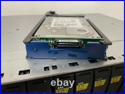 EMC Dell KTN-STL3 15-Bay SAS Storage Array with (15) 3TB HDDs, 2PSU, 2 Controller