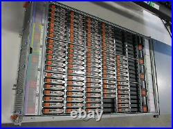 EMC JBOD SAS 2.5'' 120 BAY HARD DRIVE STORAGE ARRAY chassis 13x 1.2tb 77x 600gb