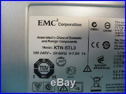 EMC KTN-STL3 15 Bay Hard Drive Enclosure Storage Array 2x SAS Link Module 2x PSU