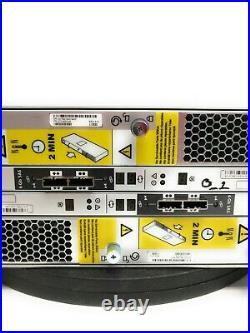 EMC KTN STL3 15-Bay Hard Drive Enclosure with 15x 3TB HDD, Dual Controllers x2 PSU