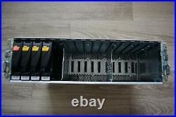 EMC KTN-STL3 15-Bay SAS Storage Array 100-562-904 2 x 6G SAS Module 2 x PSU