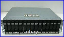 EMC KTN-STL3 15 Bay Storage Array with 7x 100GB SSD, 8x 600GB HDD, 2x 303-108-000E
