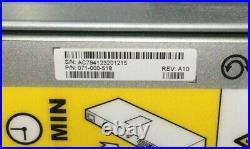 EMC KTN-STL3 STORAGE DISK ARRAY ENCLOSURE With RAILS, SAS CONTROLLER, PSU