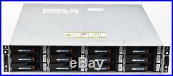 EMC MPE 12-Slot SAS/SATA Storage Array with 2x Processor Modules + 12x 400GB HDD