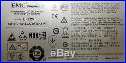 EMC SAE Disk Array 4x 900Gb SAS HDD + 2x EPE25 Storage with 24x 900GB VNXE 3150