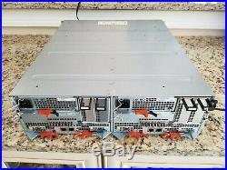 EMC STPE25 SAE Storage 25 bay 14x 600GB 10k 5x 100GB Flash Array SAS SAN HDD 16G