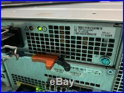 EMC VNX 5100 Storage Array w 12x 600Gb 10k SAS 2x Controller 110-140-104B 2x PSU