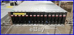 EMC VNX5300 Storage Array NO O/S 15 V3-2S10-600 600GB 10K SAS HDD