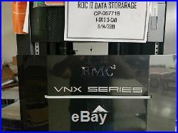 EMC VNX5300 Unified Storage Array NO O/S 15 V3-VS07-200 2TB SAS HDD