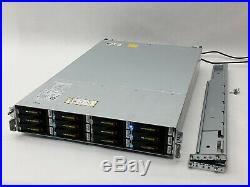 Emc Data Domain DD2500 36TB Storage Array Deduplication 123TB 7.2k E5-2660 32GB