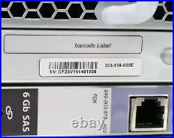 Emc Dell Ktn-stl3 Vnx 15-bay SATA 3.5 3u Array Storage Enclosure 153tb 45tb