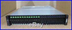Fujitsu ETERNUS JX40 S2 Storage Subsystem 24-Bay 13x 1.8TB FTSETJ4DB8 SAS Array