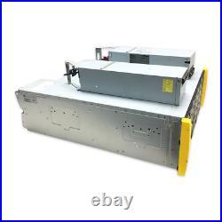 HP 3PAR NAS Disk Array M6720 STORAGE ENCLOSURE 24x LFF HDD Fillers with Rail