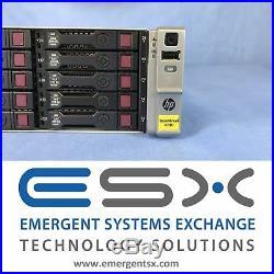 HP B7E28A StoreVirtual 4730 22.5TB Storage Array 25x 900GB 10k SAS