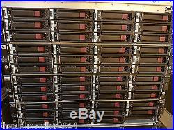 HP D2600 12 x 2TB SAS Storage array AJ940A 2 x Cntrls, 2 x PSU, Rails