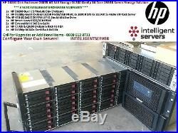 HP D6000 Disk Enclosure 280TB DL380p Gen8 16-Core 192GB Server Solution QQ695A