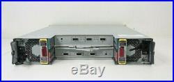 HP M6710 24-Bay 2.5 SAS Storage Array QR490-63012 with Caddies + 6x 500GB HDD