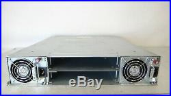 HP MSA 2040 24-Bay SFF SAN STORAGE ARRAY CHASSIS with Dual PS NO CONTROLLERS