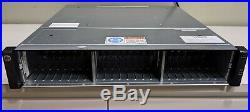 HP MSA 2040 24-Bay SFF SAN Storage Array Chassis with dual PS