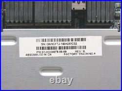 HP MSA 2040 Smart Array SAS Storage Controller Module C8S53A 738367-001