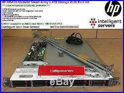 HP MSA50 Modular Smart Array 1.4TB SAS Storage With Rack Kit 364430-B21