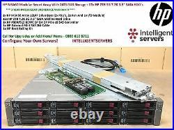 HP MSA60 Modular Smart Array With 24TB Storage 12x HP 2TB 7.2K 3G 3.5 SATA HDD