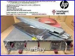 HP MSA60 Modular Smart Array With 36TB Storage 12x HP 3TB 6G 7.2K DP 3.5 SAS