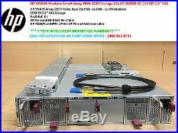 HP MSA70 Modular Smart Array With 15TB Storage 25x HP 600GB 6G 10K DP 2.5 SAS