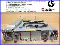 HP MSA70 Modular Smart Array With 7.5TB Storage 25x HP 300GB 6G 10K DP 2.5 SAS