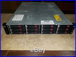 HP Modular Smart Array P2000 3.5 Storage Enclosure Chassis P/N AP844A