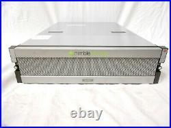 HP Nimble Storage Array CS300 12TB SAN 12x 1TB SAS 4x 600GB SSD 16GB FC Fiber