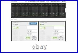 HP Nimble Storage Array CS500 48TB SAN 12x 4TB SAS 4x 800GB SSD 16GB FC Fiber