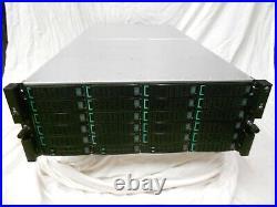 HP Nimble Storage Array HF60 126TB SAN 21x 6TB SAS 2x 16GB FC Fiber Controllers