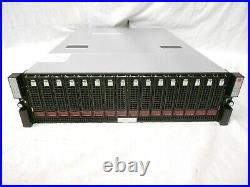 HP Nimble Storage SAN Expansion Array ES1-H25 15x 1TB 7.2K SAS 1x 160GB SSD 15TB
